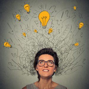 idées et solutions sortant de la tete
