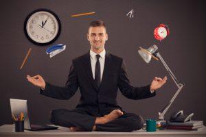 yoga jongle temps gestion travail