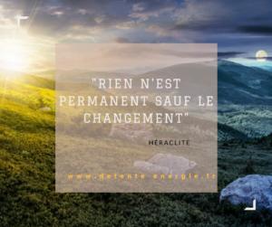 citation sur le changement