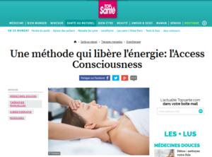 article dans top santé sur Access Bars